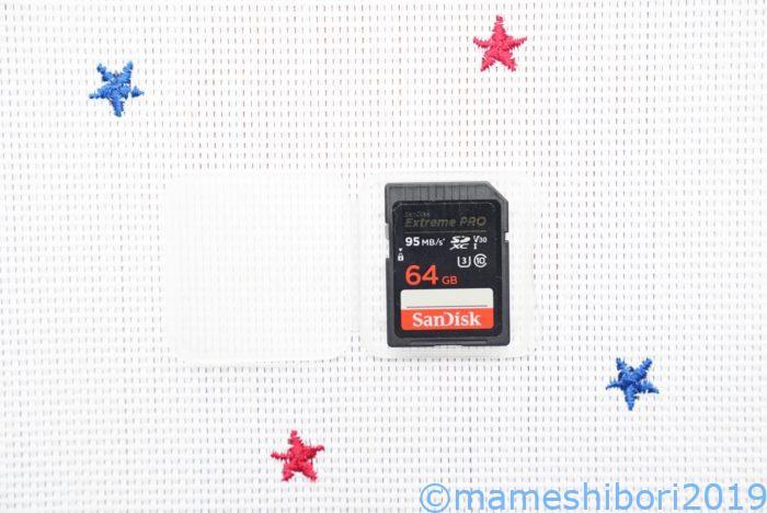 SanDiskのSDカード